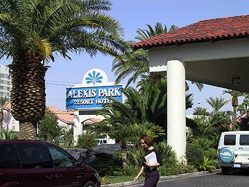 Alexis Park Resort Hotel in LV