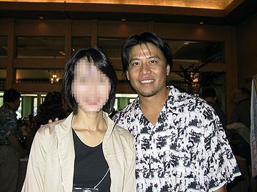 Kim with My Wife